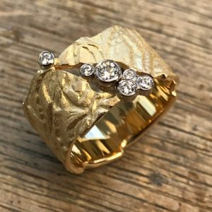 Ring Relief Brillanten