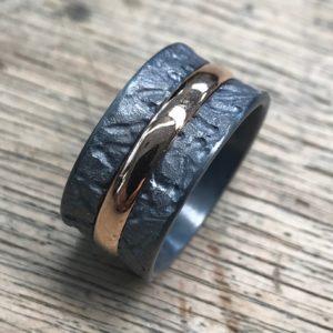 Ring Silber und Trauring