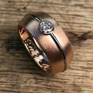 Ring aus 2 Trauringe