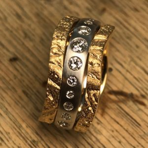 Ring mit Brillanten (2)